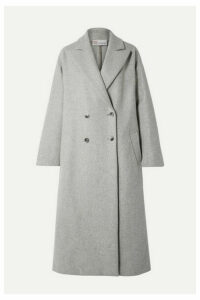 REDValentino - Oversized Double-breasted Wool-blend Coat - Gray