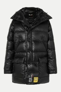 Brumal - + R13 Hooded Quilted Shell Down Parka - Black