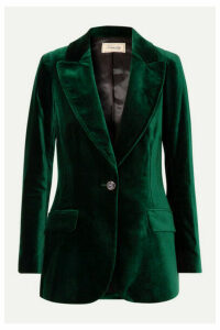 Temperley London - Clove Velvet Blazer - Dark green