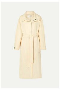 The Row - Panae Silk And Cotton-blend Trench Coat - Beige