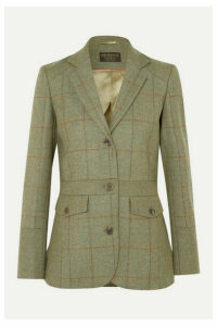 James Purdey & Sons - Checked Wool-tweed Blazer - Green
