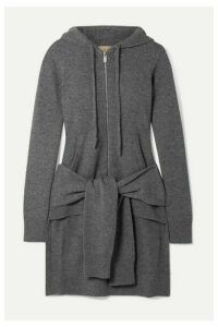 Michael Kors Collection - Asymmetric Cashmere Hoodie - Gray