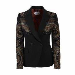 The Extreme Collection - Black Crossover Blazer Naomi