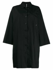 Raeburn oversized shirt dress - Black