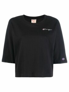 Champion embroidered logo T-shirt - Black
