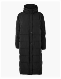 M&S Collection PETITE Padded Duvet Coat