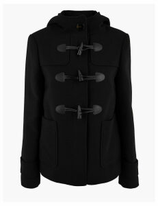 M&S Collection Short Duffle Coat