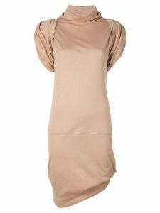 Vivienne Westwood Anglomania Punkatore turtleneck dress - Brown