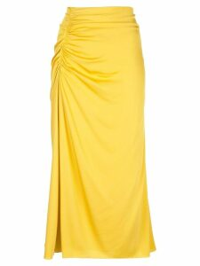 Theory ruched style skirt - Yellow