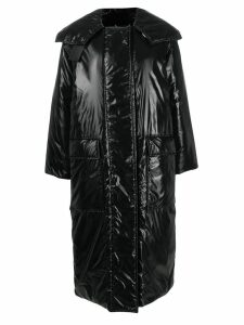 Givenchy oversized padded coat - Black