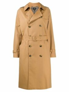 A.P.C. Greta double-breasted trench coat - Brown