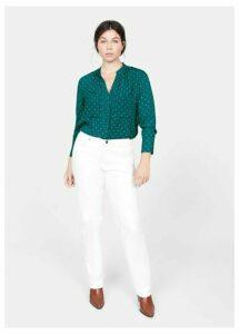 Polka-dot print blouse