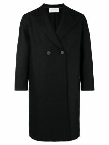 Harris Wharf London double breasted coat - Black
