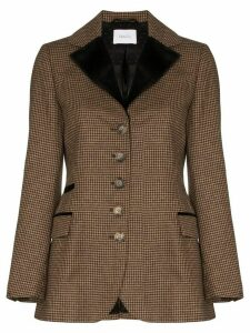 Racil Curtis houndstooth blazer - Brown
