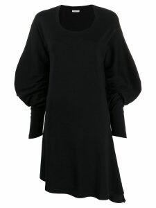 Aalto statement sleeve dress - Black