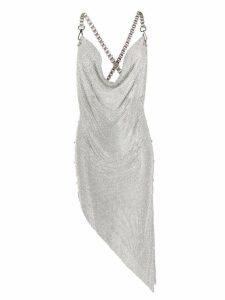 Giuseppe Di Morabito crystal embellished dress - Metallic