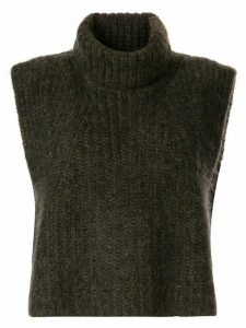 Isabel Marant Étoile roll neck vest - Green