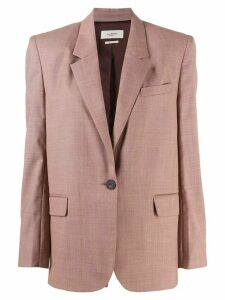 Isabel Marant Étoile single-breasted regular-fit blazer - Pink