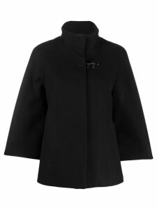 Fay short duffle coat - Black