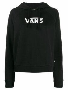 Vans logo print hoodie - Black