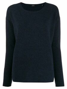 Aspesi round neck sweater - Blue