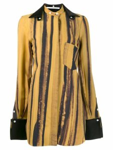 Peter Do striped shirt - Yellow