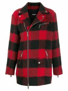 Dsquared2 checkered coat