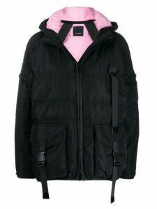 Pinko cropped padded jacket - Black