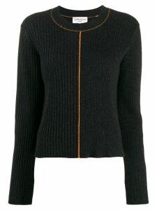 YMC ribbed knit sweater - Grey