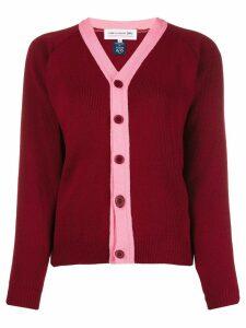 Comme Des Garçons Girl button up cardigan - Red