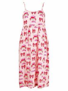 Comme Des Garçons Girl girl print dress - Pink