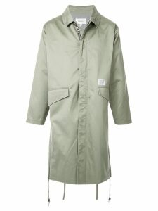 Makavelic military midi coat - Green