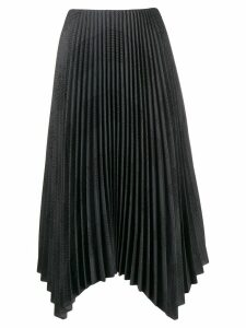 Fabiana Filippi pleated midi skirt - Green