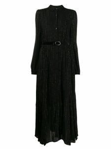 Liu Jo striped shirt dress - Black