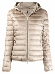 Save The Duck padded zip-front jacket - Neutrals