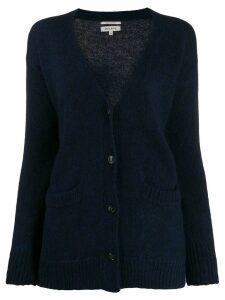 Woolrich oversized long-sleeve cardigan - Blue