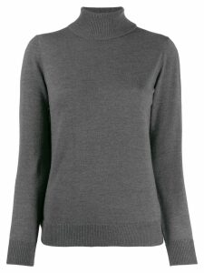 A.P.C. roll-neck fitted sweater - Grey
