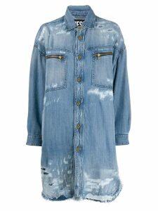 Diesel denim shirt dress - Blue