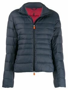 Save The Duck padded cropped jacket - Blue