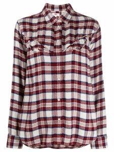Levi's plaid print shirt - Red