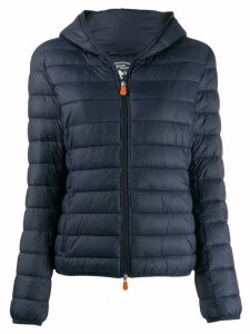 Save The Duck padded zip-front jacket - Blue