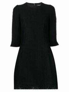 Dolce & Gabbana bouclé mini dress - Black