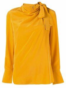A.L.C. Sophie silk blouse - Yellow