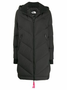 The North Face hooded padded coat - Black
