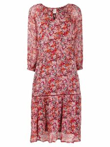 Cecilie Copenhagen Stine floral print dress - Red