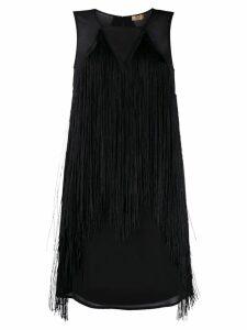 Liu Jo fringed short dress - Black