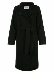 Diane von Furstenberg fine knit belted coat - Black