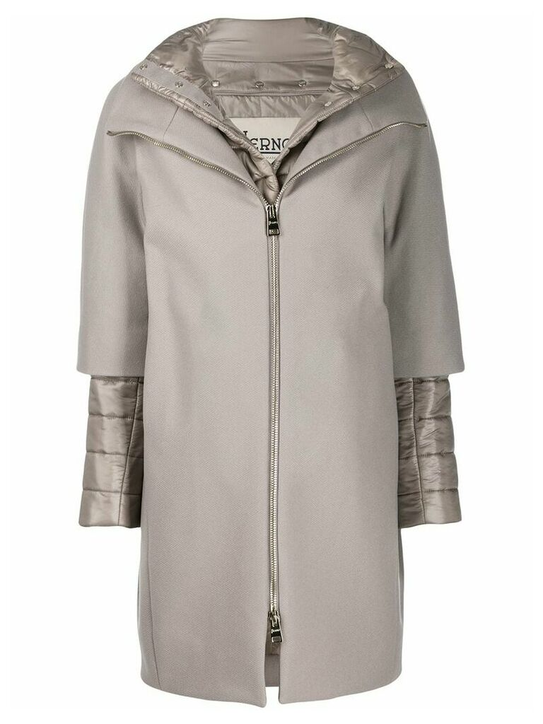 Herno two-in-one coat - Grey
