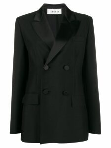 LANVIN double-breasted blazer - Black