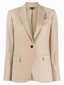Theory single breasted blazer - NEUTRALS